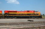 KCS 4034, EMD SD70ACe, New at the BNSF yard